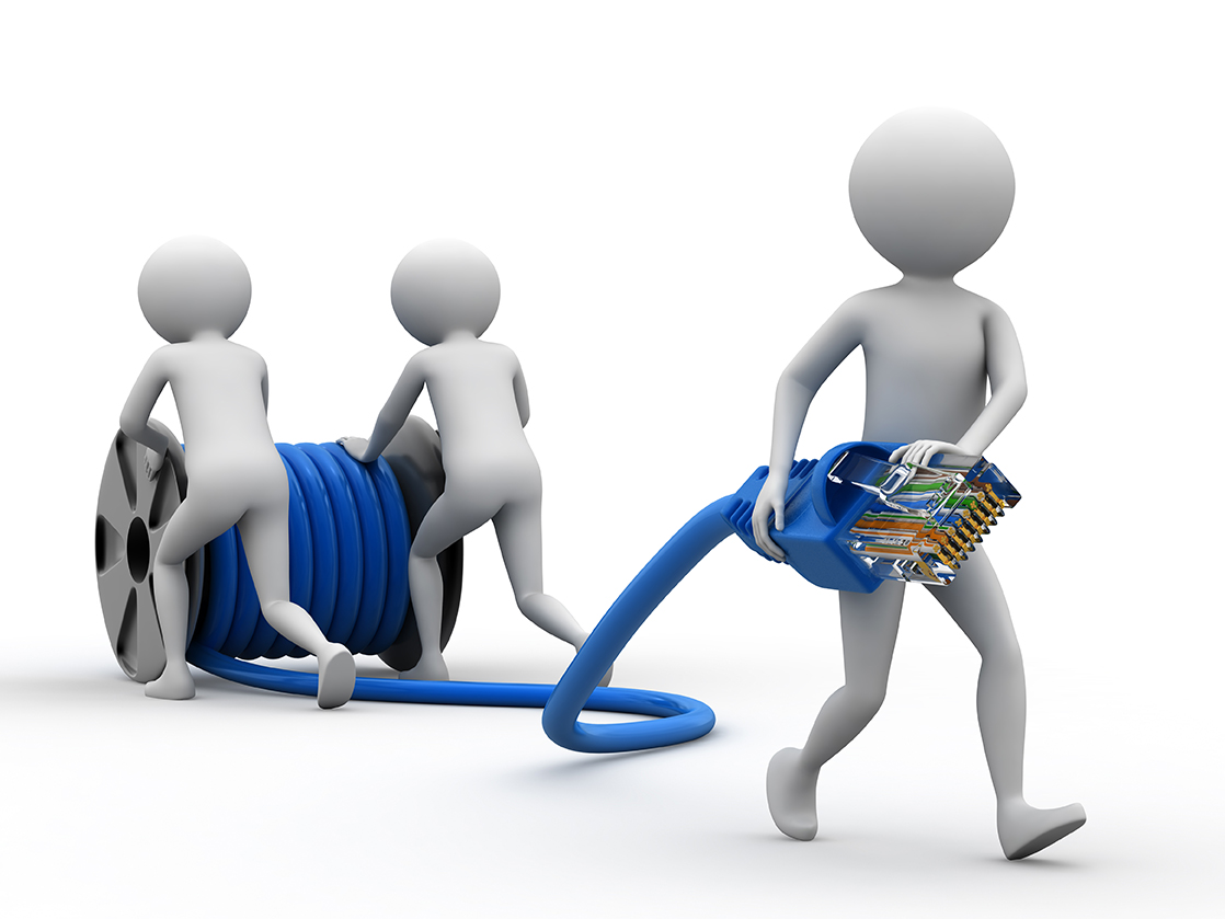Outsource Network Cabling Service to Install Your Office Systems