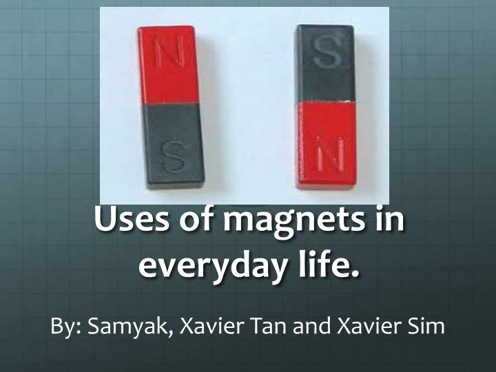 Magnets for daily use